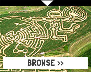 Mazes: Corn Mazes, Rope Mazes, and More